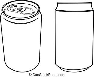 La bebida puede delinear el vector