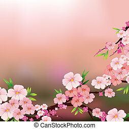 La belleza de las flores frescas