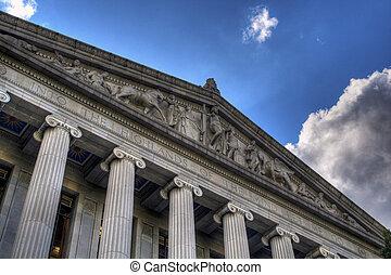 La biblioteca de Sacramento y los tribunales están construyendo HDR