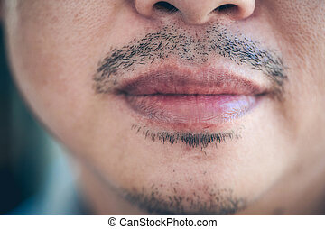 La boca del hombre