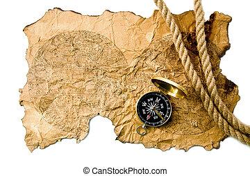 La brújula y el viejo mapa