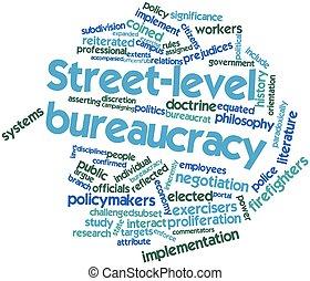 La burocracia en la calle