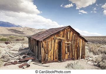 La cabaña de Miner en Benton Hot Springs