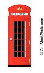 La cabina telefónica del Reino Unido