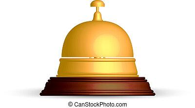 La campana de recepción