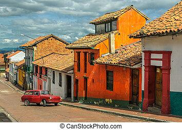 La Candelaria, un barrio histórico en el centro del pantano, Columbia