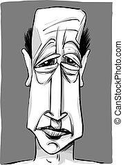 La caricatura del viejo