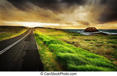 La carretera costera