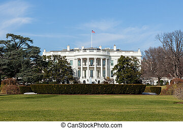 La casa blanca en Washington DC