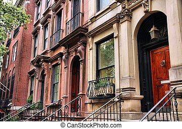 La casa de Nueva York