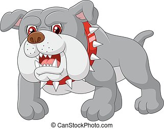 La casa del perro guardián de los dibujos animados