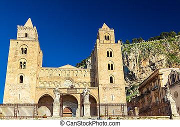 La catedral-basilica de Cefalu