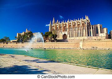 La catedral de Palma también conocida como La Seu