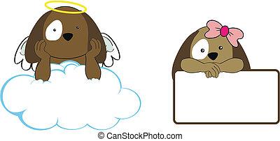 La chica de los cachorros, Angel, copia a Clo