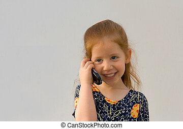 La chica del móvil