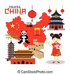 La china viaja china