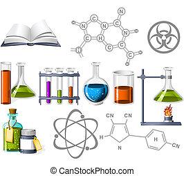 La ciencia y los iconos químicos