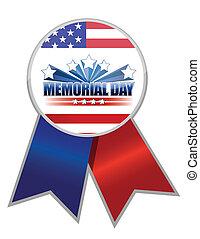 La cinta del día Memorial