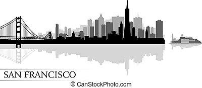 La ciudad de San Francisco tiene antecedentes de silueta