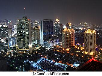 La ciudad por la noche