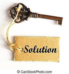 La clave de la solución