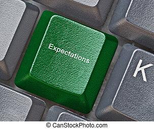 La clave para las expectativas
