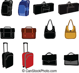 La colección de bolsas