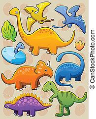 La colección de dinosaurios