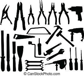 La colección de herramientas