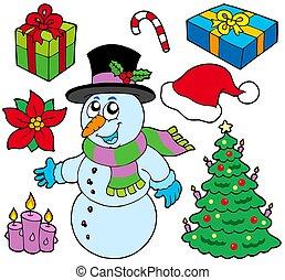 La colección de imágenes navideñas