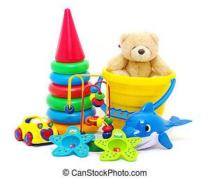 La colección de juguetes