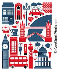 La colección de símbolos de Londres