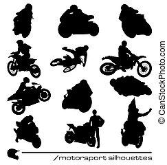 La colección de siluetas de Motorsport