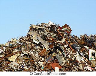 La colina de la basura