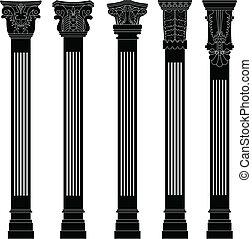 La columna de Pillares antigua