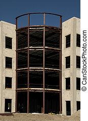 La construcción de nuevas oficinas