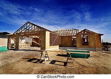 La construcción de un nuevo hogar
