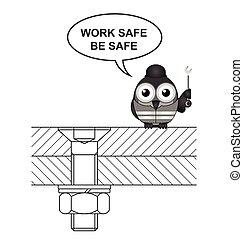 La construcción es segura