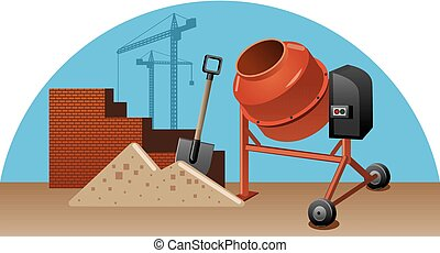 La construcción funciona con herramientas