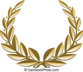 La corona de oro