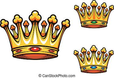 La corona real