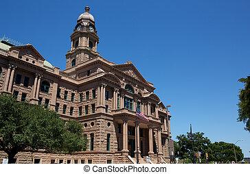 La corte histórica del condado de Tarrant