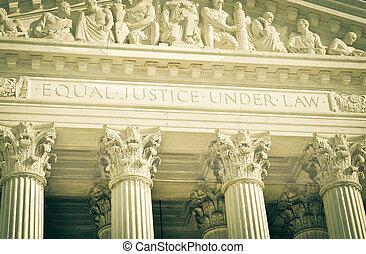 La Corte Suprema de los Estados Unidos