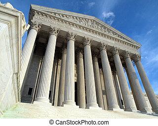 La Corte Suprema Washington DC