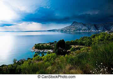 La costa adriático