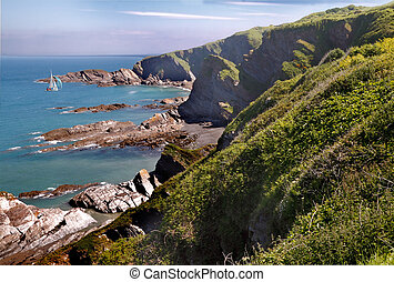 La costa de Devon