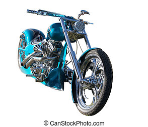 La costumbre construyó la moto
