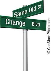 La decisión escoge la misma calle o el cambio