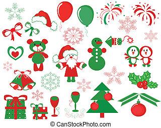 La decoración de Navidad