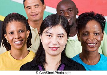 La diversidad de la gente